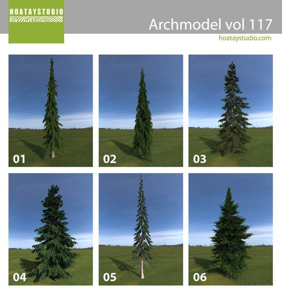 Thumbnail Archmodel vol 117 for Artlantis