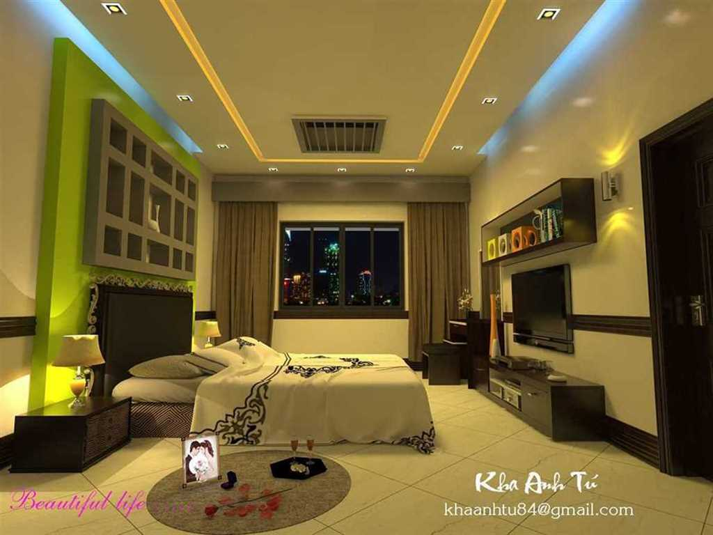 Bedroom for the wedding night - Kha Anh Tú