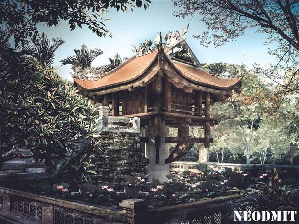 Chùa 1 cột - Hà Thiện Phú