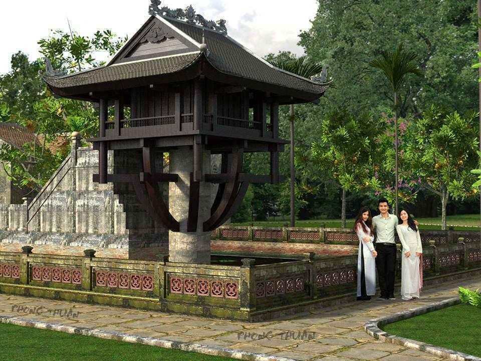 Chùa 1 cột - Phong Thuận