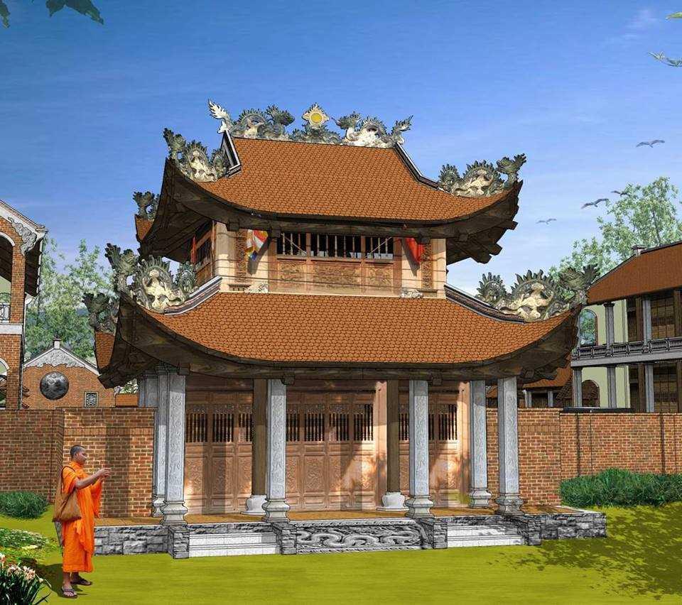 Thumbnail Tổng hợp model kiến trúc: Chùa, nhà cổ, nhà truyền thống, nhà thờ họ