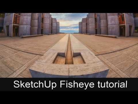 Thumbnail SketchUp + Photoshop Fisheye tutorial - Ngọc Phúc