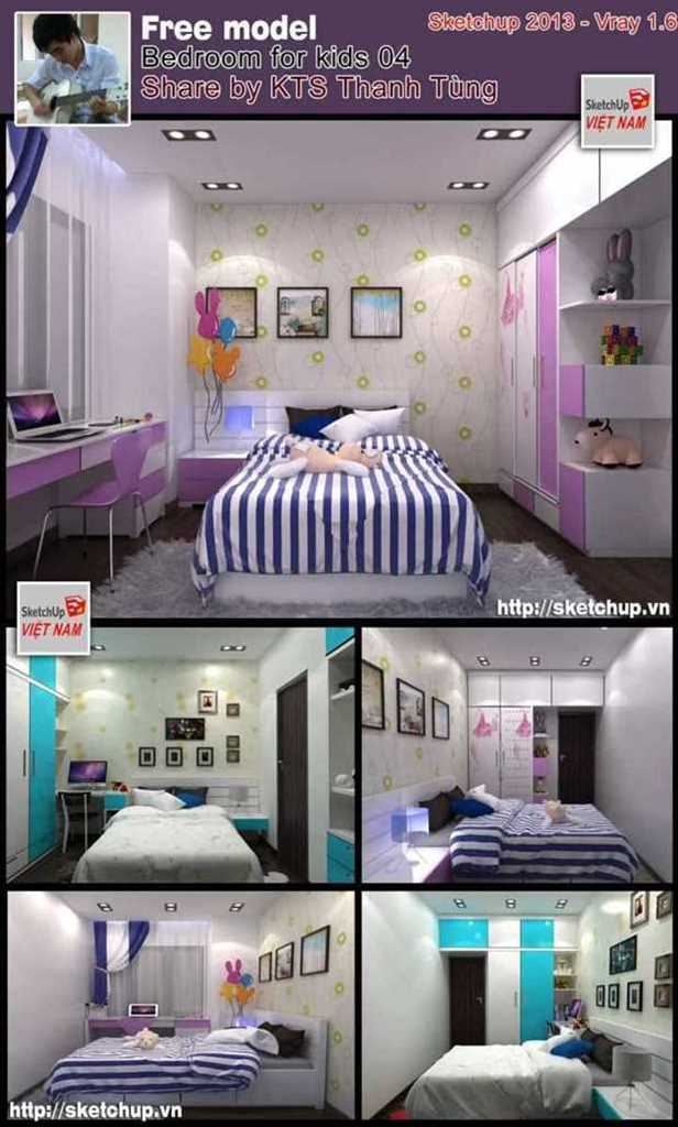 Thumbnail Bedroom for kids #4 - Thanh Tùng