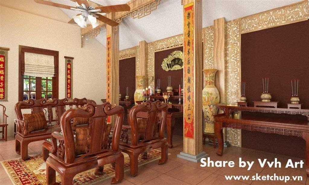 Nhà từ đường - KTS.Võ Văn Hưng